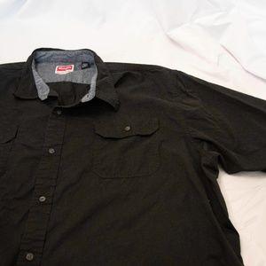 Wrangler Men's Button Up Shirt Short Sleeve Size3X